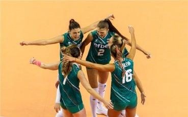 Състав на България за Европейското по волейбол за жени