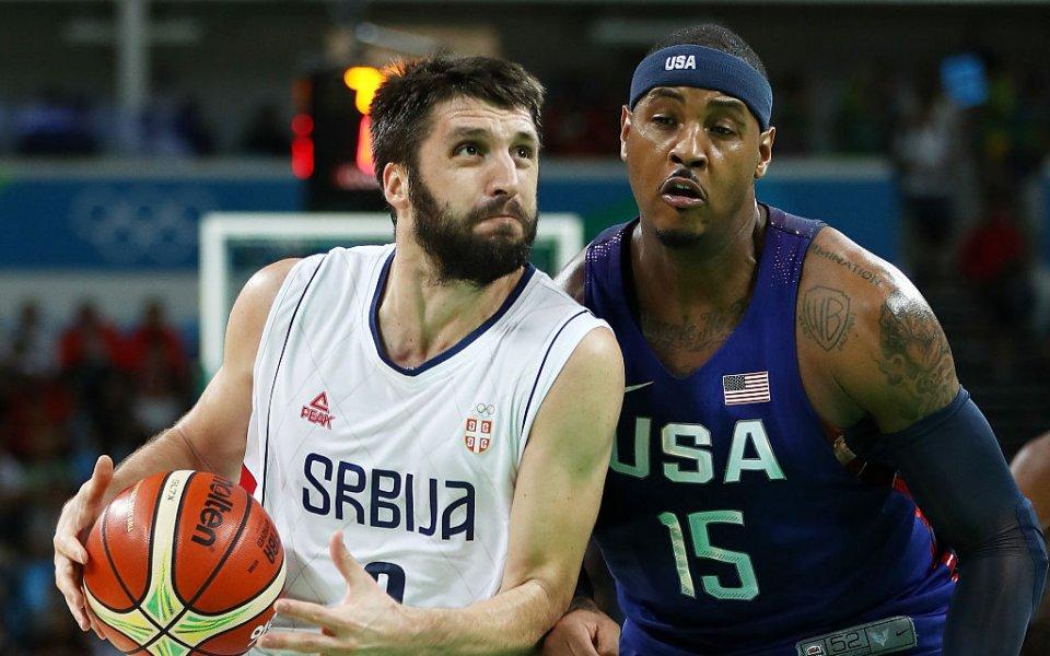 Капитанът и плеймейкър на сръбския национален отбор по баскетбол Милош