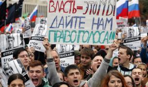 <p>В Русия: Участваш в протест, взимат ти бебето</p>