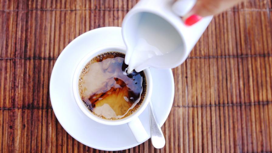 сметана за кафе