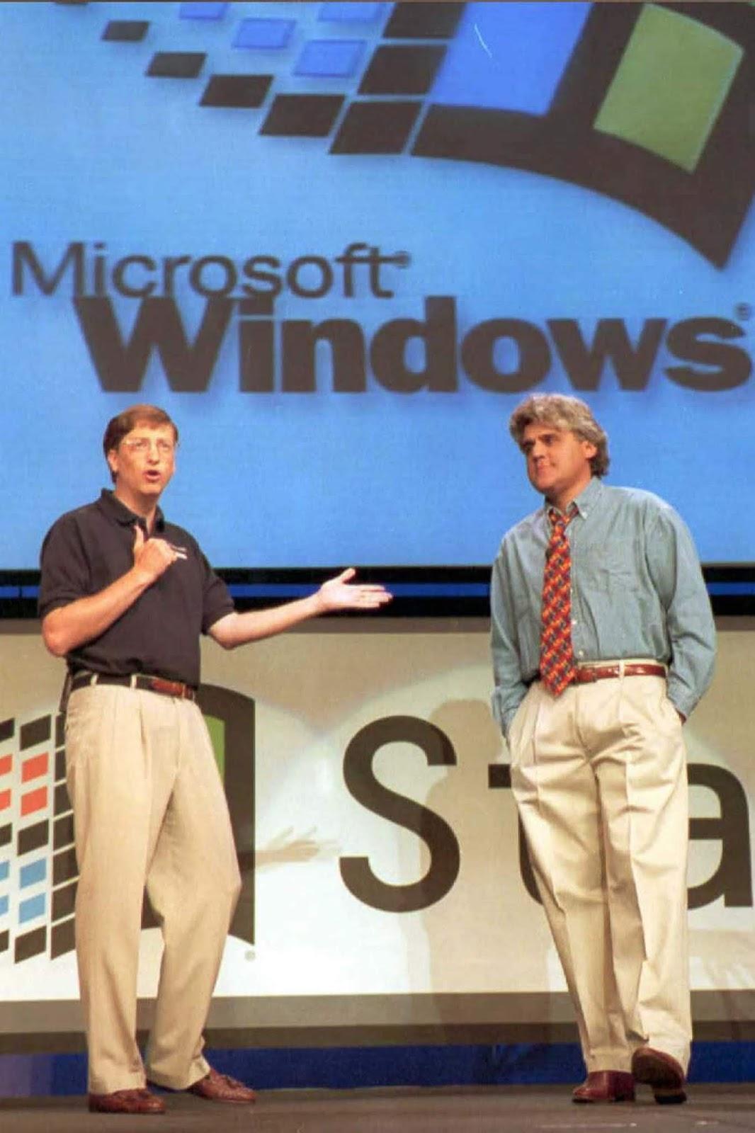 <p>Прдставянето на Windows 95 в Редмънт, Вашингтон.</p>
