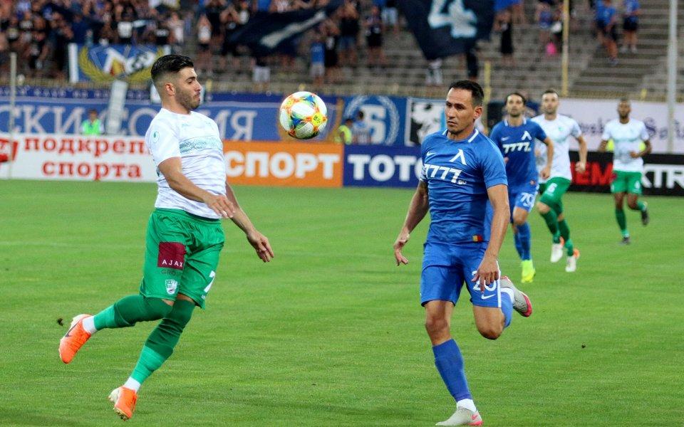 Футболистът на Левски Живко Миланов е на път да запише
