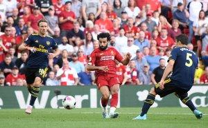 Ливърпул удари прясно анфийлдско клеймо на Арсенал