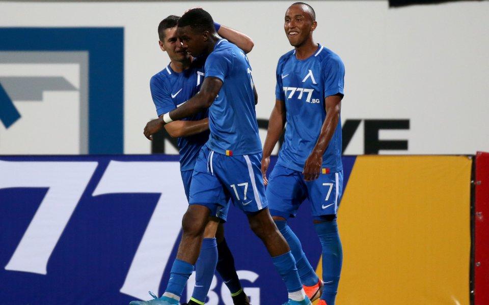 Найджъл Робърта, който донесе победата с 1:0 на Левски срещу