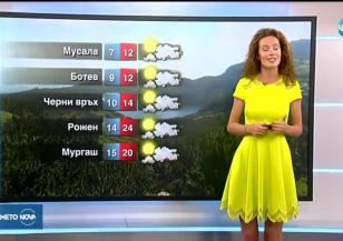 Прогноза за времето (25.08.2019 - обедна емисия)