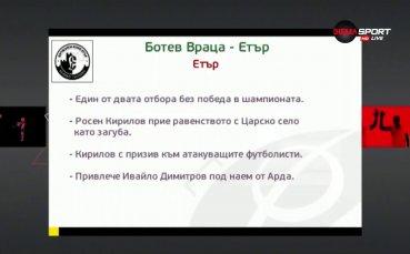 Ботев и Етър се подсилиха преди двубоя във Враца