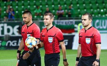 Спряха правата на скандалния рефер от мача в Разград