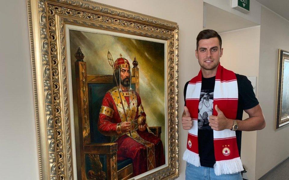 Мистериозна травма мъчи футболист на ЦСКА