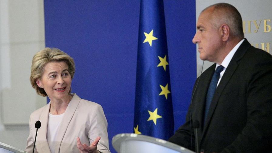 Борисов обсъди с Урсула фон дер Лайен плана за възстановяване на Европа