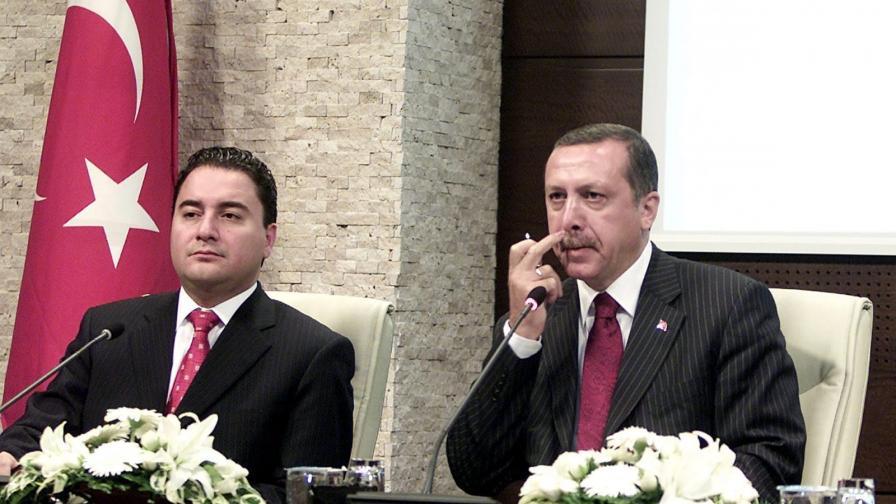 Али Бабаджян и Реджеп Ердоган по времето, когато все още бяха съмишленици
