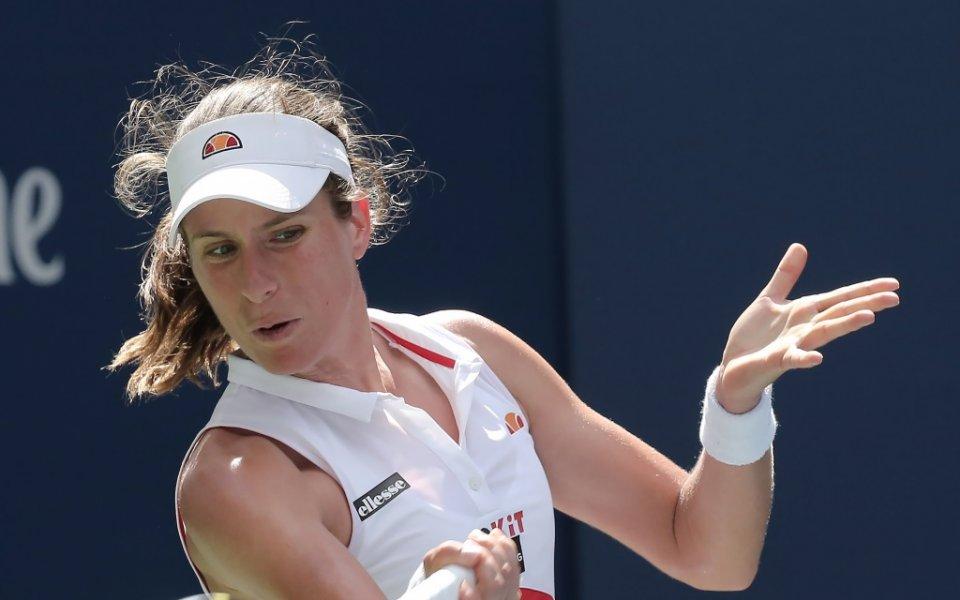 Конта стигна 1/4-финал на US Open