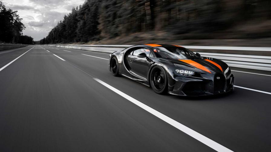 Очакваното се случи: Bugatti Chiron вдигна 490 км/ч