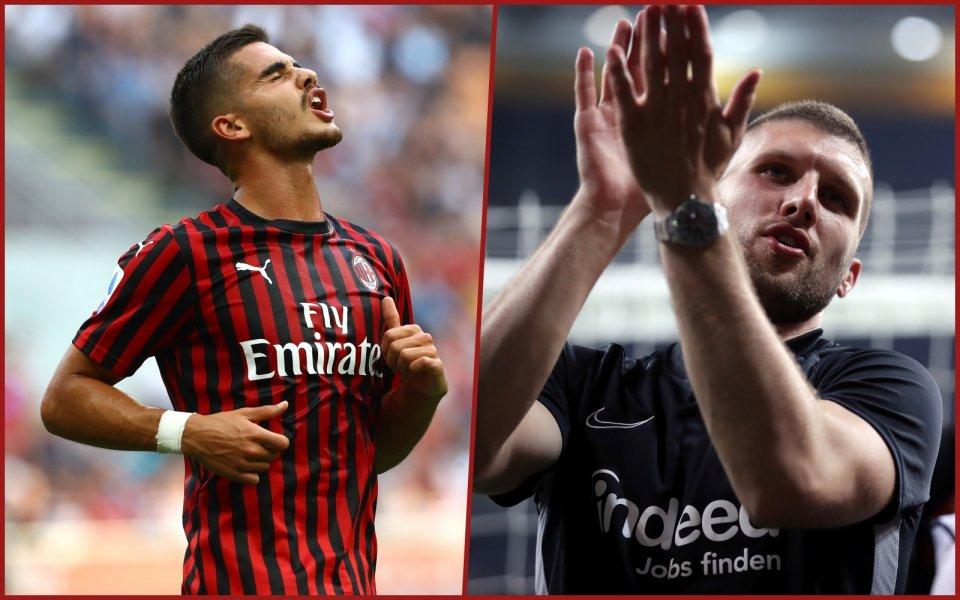 Официално: Милан и Айнтрахт размениха нападатели