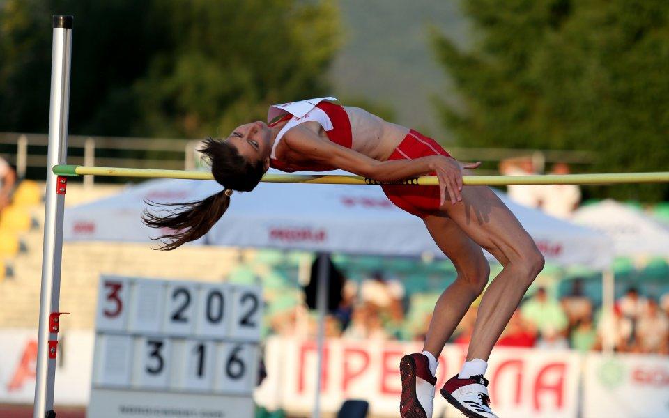 Мирела Демирева със злато на Балканиадата!