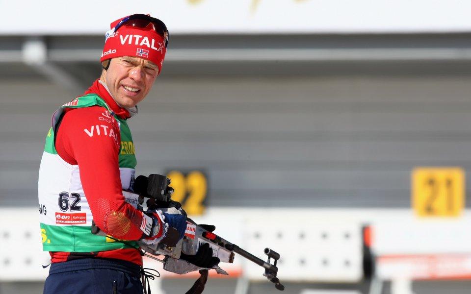 Трикратният олимпийски и петкратен световен шампион в биатлона Халвард Ханеволд