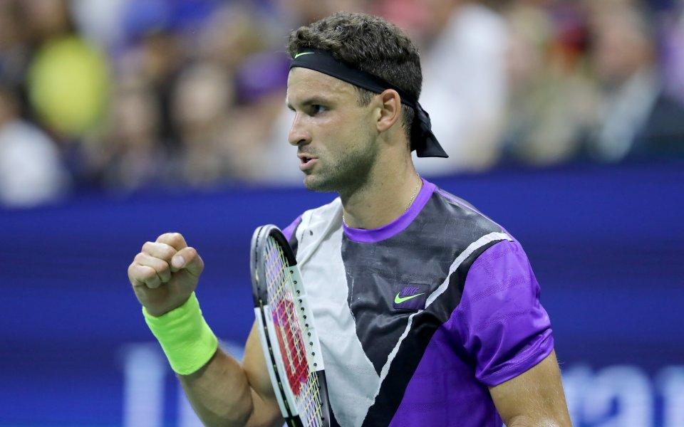 Българската звезда на тениса Григор Димтиров прави най-силния си мач