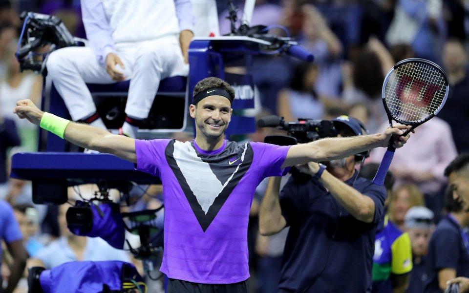 Най-добрият български тенисист в историята – Григор Димитров записа най-значимата