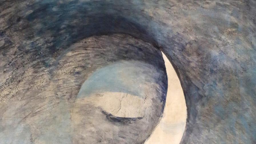 """Картината """"Париж"""" на Иван Кирков"""