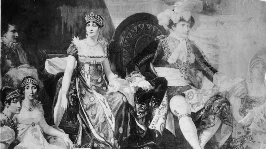 Император Наполеон I и императрица Жозефин