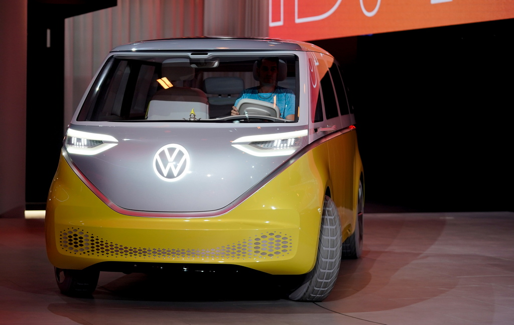<p>Volkswagen I.D. Buzz</p>