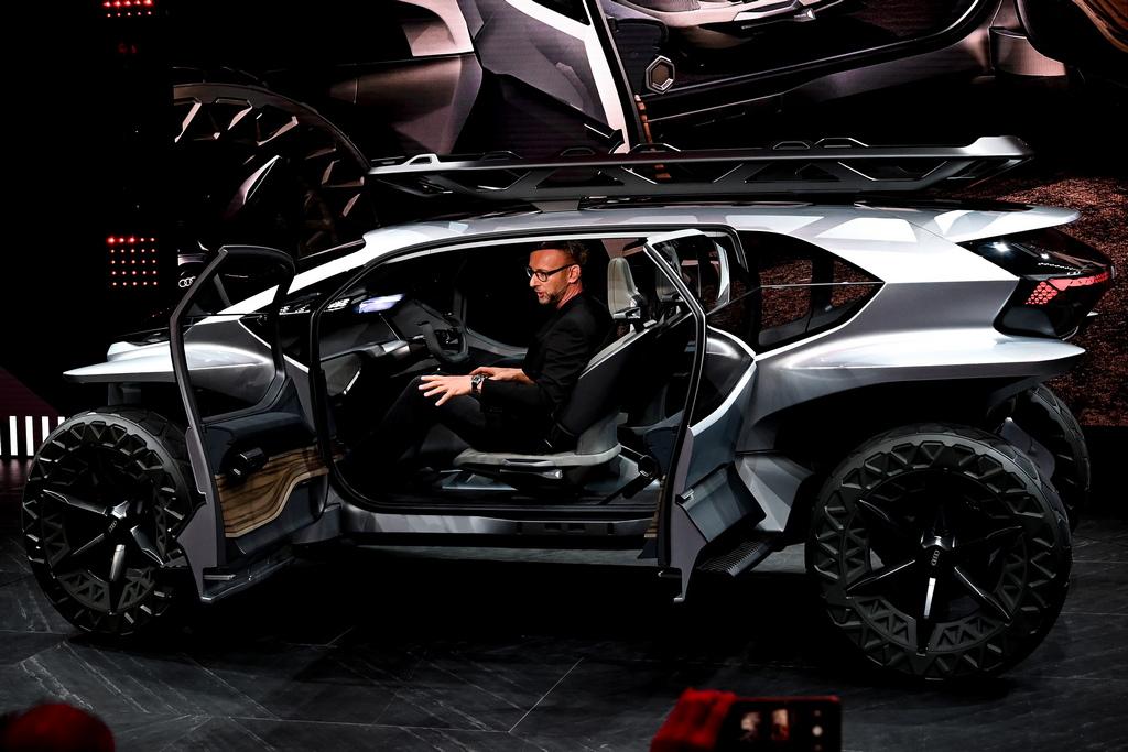 <p>Audi e-tron AI:Trail</p>