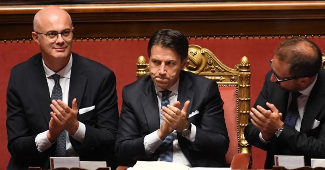 Свят Новото италианско правителство спечели вот на доверие Това мнозинство
