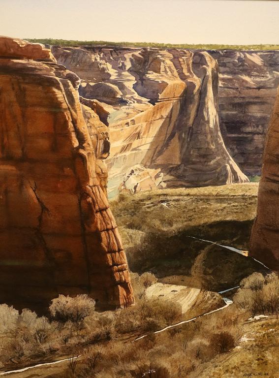 <p>&quot;Сняг в каньона&quot; от Робърт Хайсмит, САЩ</p>