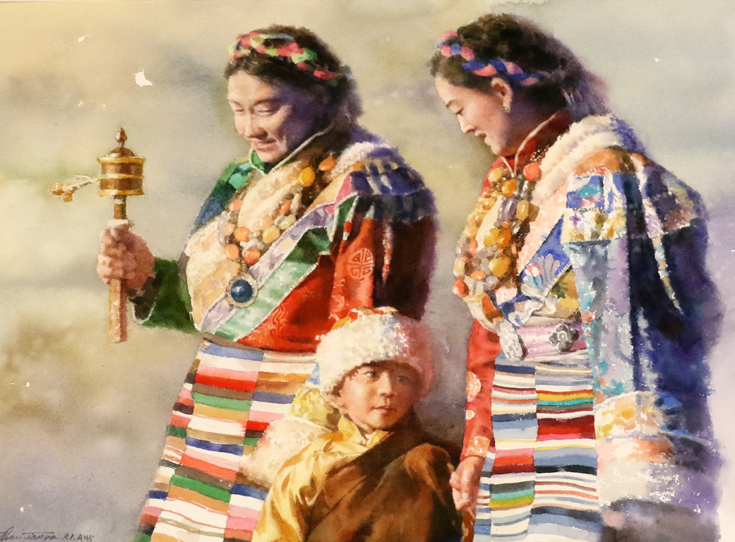 <p>&quot;Три поколения&quot; от Чжоу Тианя, Китай</p>