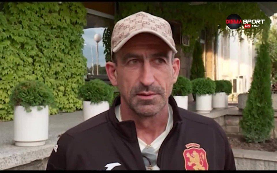 Вицепрезидентът на Българския футболен съюз Йордан Лечков не скри, че