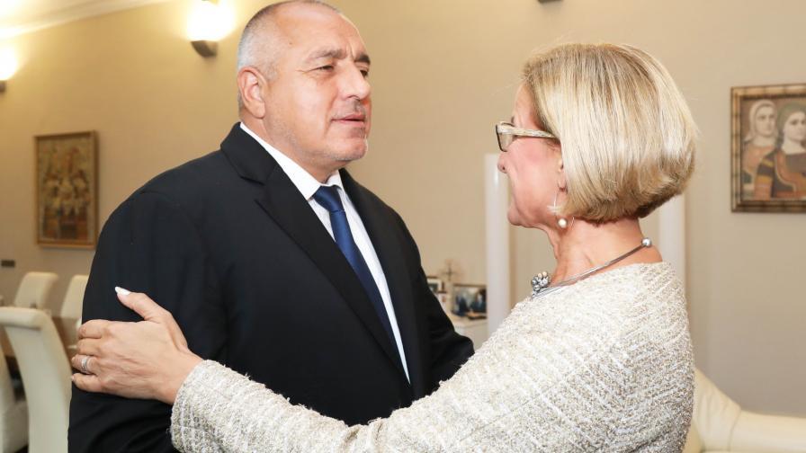 Бойко Борисов и Йоханна Микл-Лайтнер