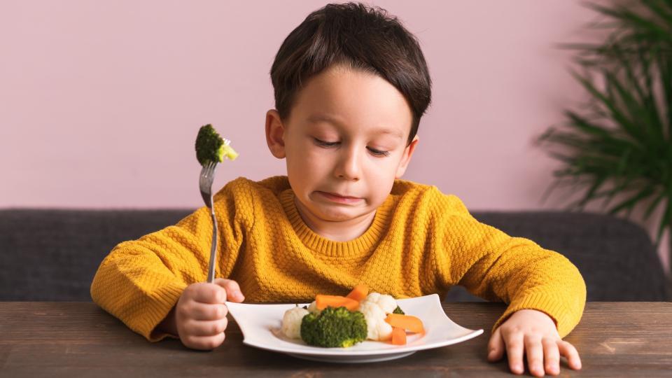дете зеленчуци