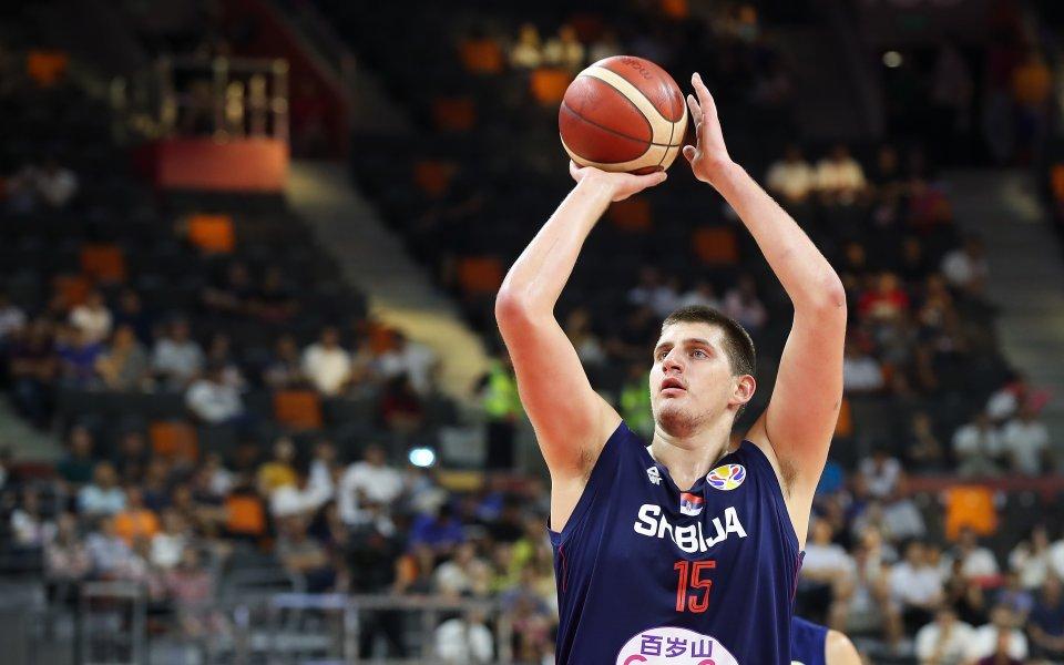Олимпийският вицешампион от Рио 2016 Сърбия се наложи над Чехия
