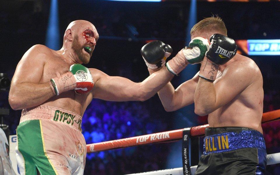 Боксьорът Тайсън Фюри заяви, че Дионтей Уайлдър ще бъде просто