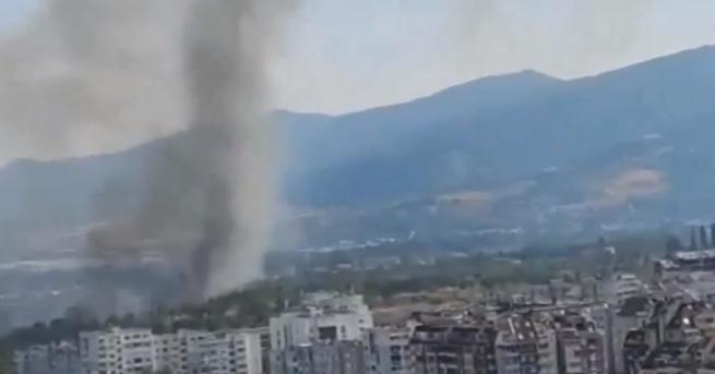 България Пожар край