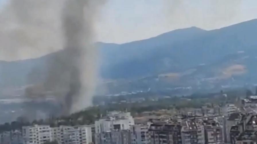 """Пожар край """"Горубляне"""""""