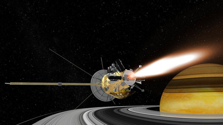 Резултат с изображение за Касини Хюйгенс достига до повърхността на Титан