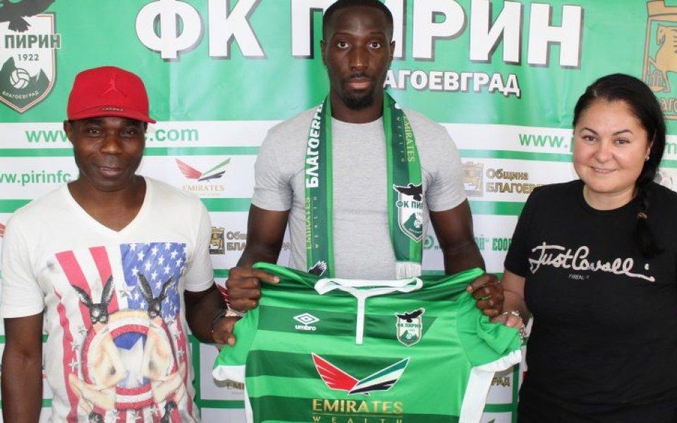 Втородивизионният Пирин (Благоевград) не спира да привлича футболисти. Най-новото попълнение