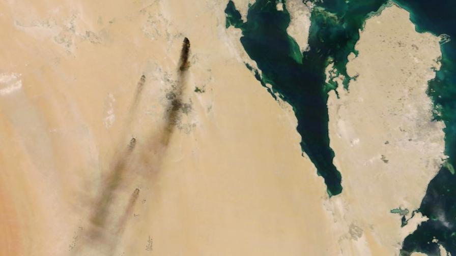 МВнР осъди атаката срещу петролни рафинерии, САЩ: Иран е виновен