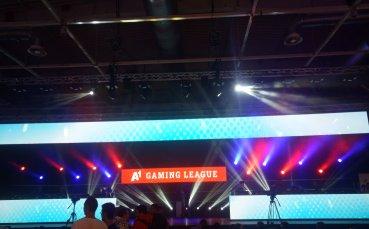 А1 тества 5G мрежата чрез финалите на Gaming League