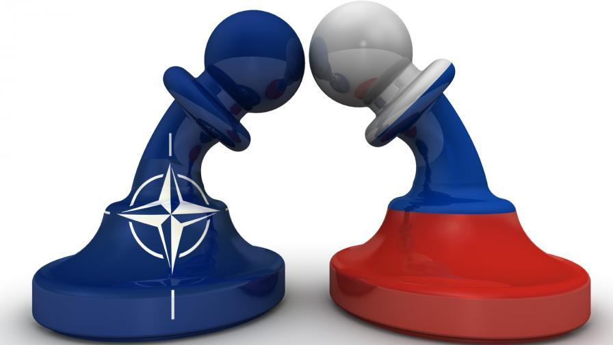 <p>Руски бойни самолети прехванати от изтребители на НАТО</p>