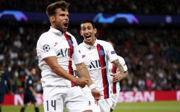 НА ЖИВО: ПСЖ и Ди Мария си играят с Реал Мадрид в Париж