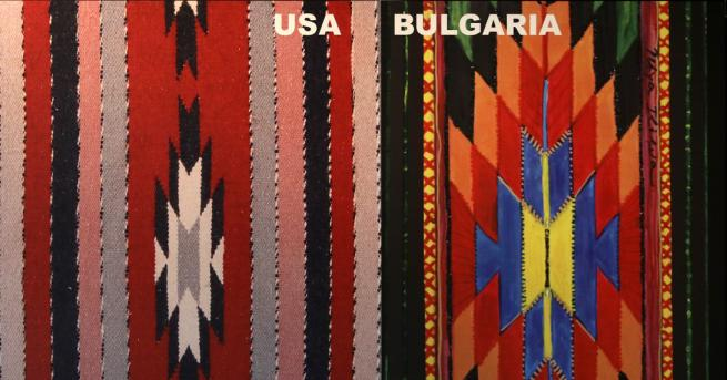 Любопитно Художничка показва български и чужди фолклорни мотиви В изложбата