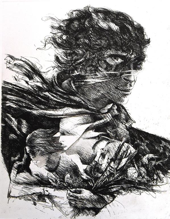 <p>Ческо Маньолато | Cesco Magnolato В образа | Dentro l&#39;immagine офорт, акватинта I etching, aquatint</p>