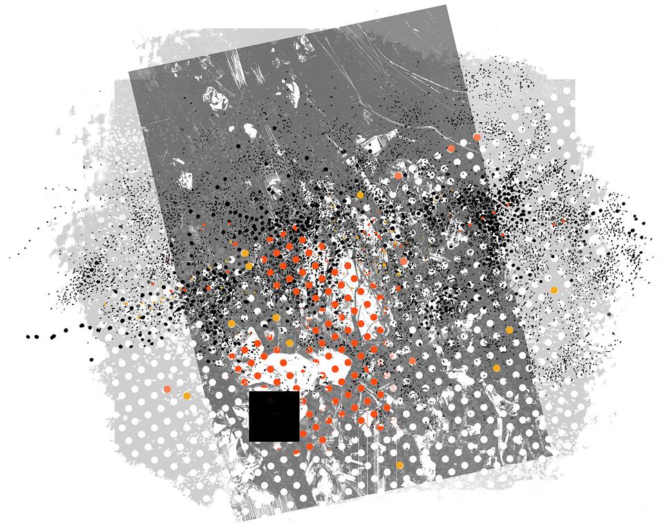 <p>Десислава Христова | Desislava Hristova M45 Pleiades Star Cluster IV Ситопечат | Silkscreen</p>
