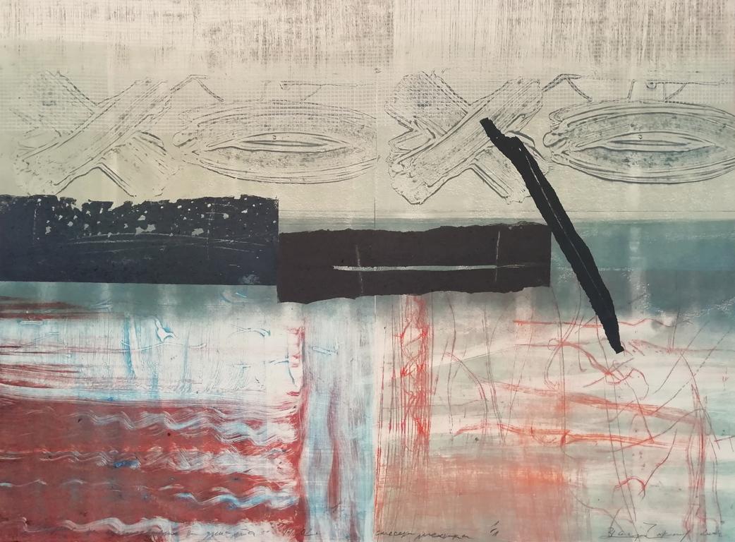 <p>Валери Чакалов | Valeri Chakalov Запис на състоянието на душата | Record of the Soul Condition &ndash; Смесена техника | Mixed Media</p>