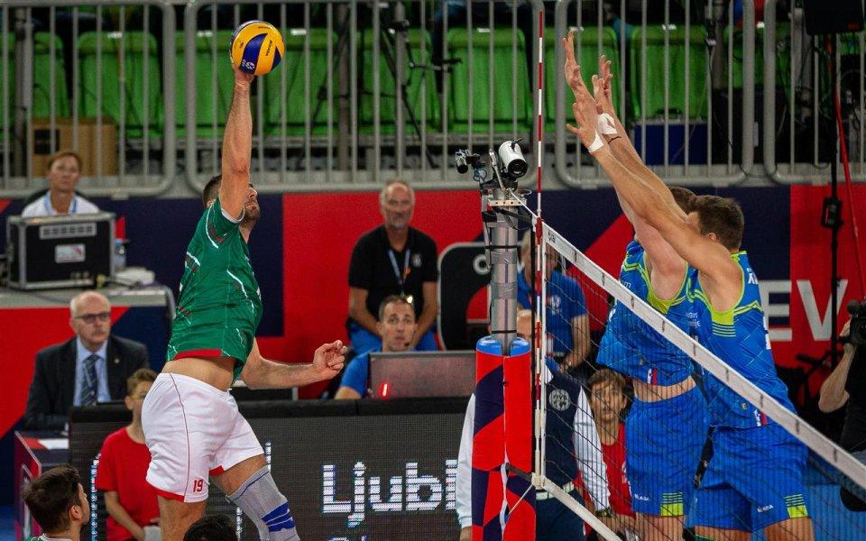 България отпадна на осминафиналите на Европейската първенство по волейбол след
