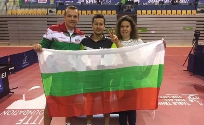 Денислав Коджабашев на състезание в Словения.