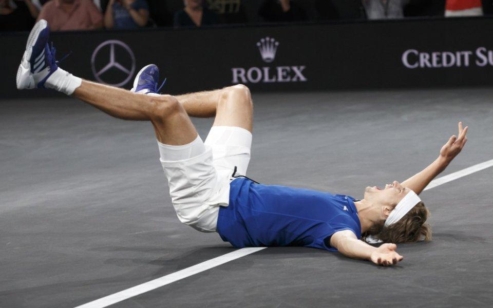 """Отборът на Европа спечели третото издание на демонстративния турнир """"Лейвър"""