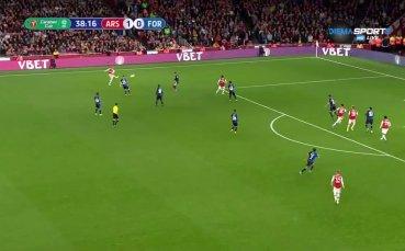 Арсенал - Нотингам Форест 1:0 /първо полувреме/