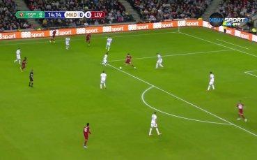 МК Донс - Ливърпул 0:1 /първо полувреме/